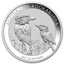 Kookaburra Zilver 1 Ounce 2017 | Muntzijde | goud999