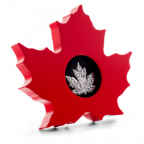 The Canadian Maple Leaf Zilver 2015 PROOF