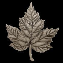 Maple Leaf Forever Zilver 1 Kilogram 2017 - Voorzijde