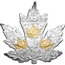 The Canadian Maple Leaf Zilver 2017 PROOF | Voorzijde | goud999