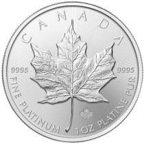 Maple Leaf Platina 1 Ounce 2016 | Muntzijde | goud999