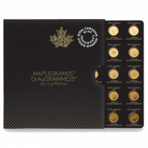 Maplegram25 2016 (25 x 1 gram)