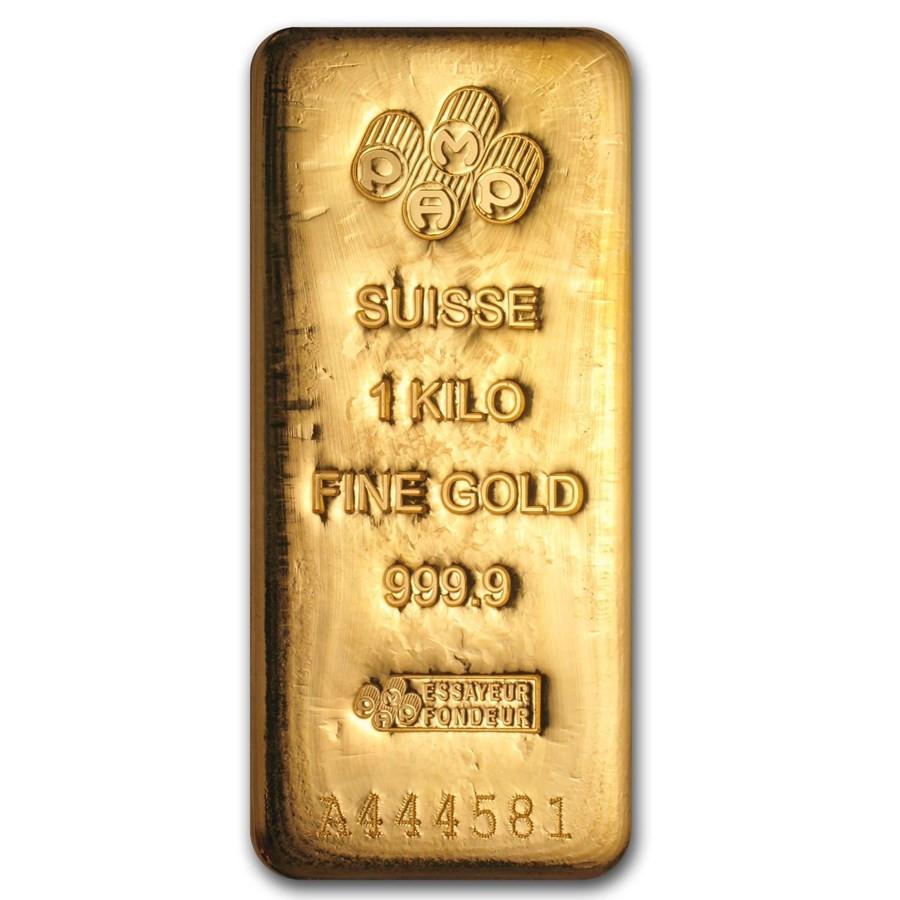 Goudbaar LBMA 1 Kilogram 999,9/1000 Argor-Heraeus | goud999