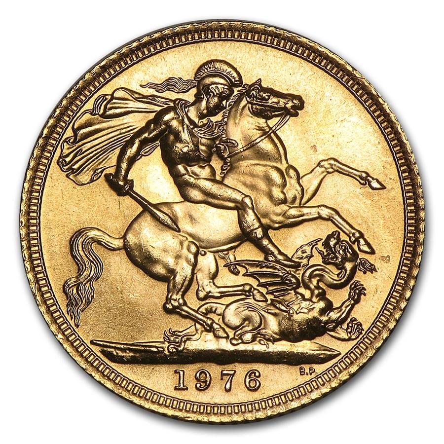 Britse Sovereign Goud (Nieuwe pond) | Muntzijde | goud999