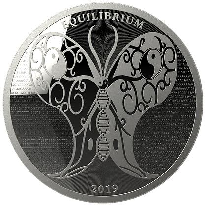 Equilibrium Tokelau Zilver 1 Ounce 2019 | Muntzijde | Goud999