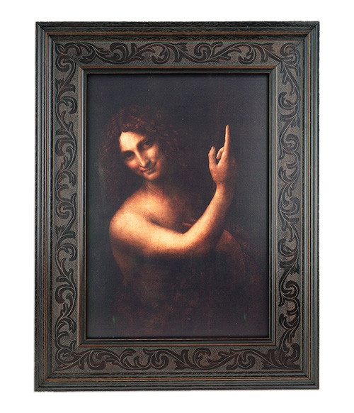 John the Baptist- 1,5kg Zilver 2019 - Leonardo da Vinci | Hoofdzijde | goud999