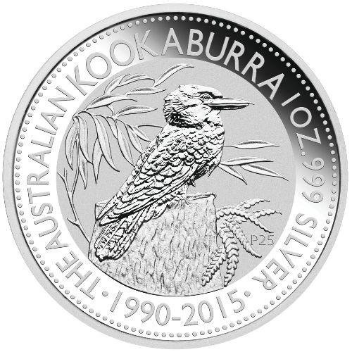 Kookaburra Zilver 1 Ounce 2015 | Muntzijde | goud999