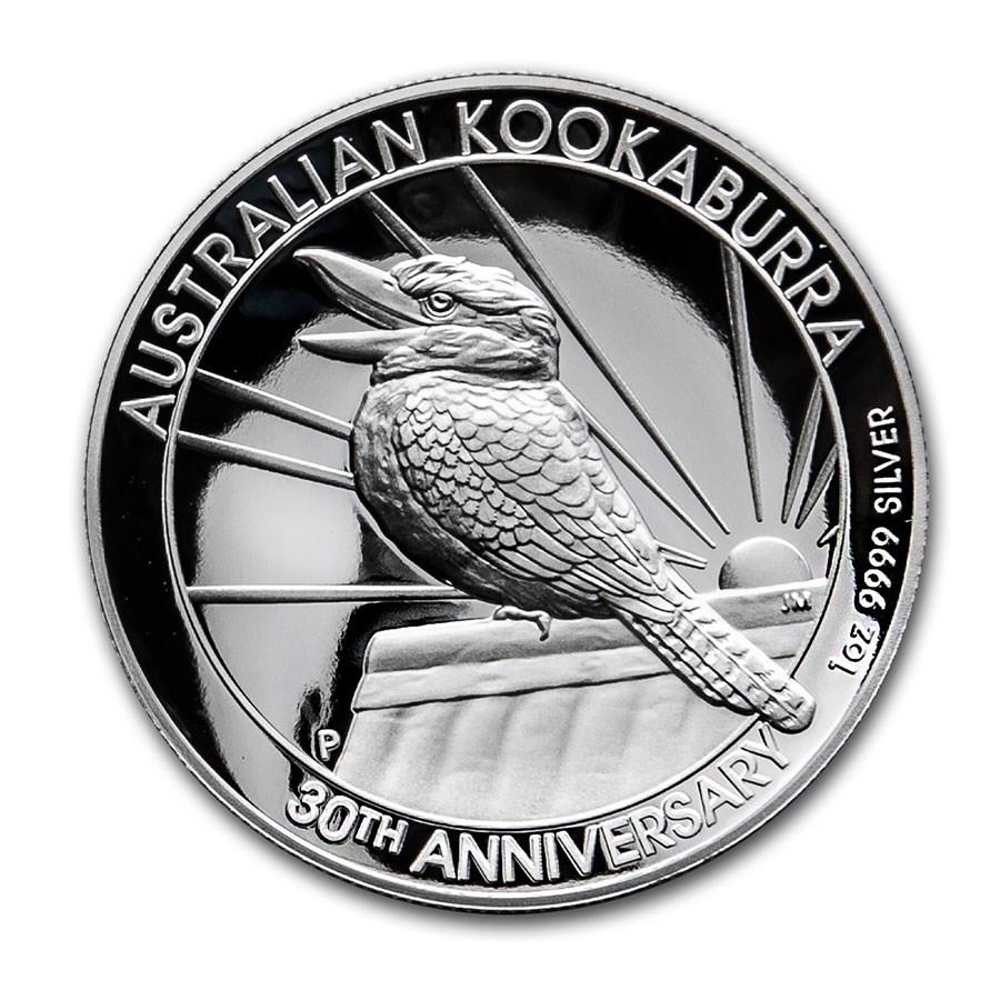 Kookaburra Zilver 1 Ounce 2019 High Relief | Voorkant | goud999