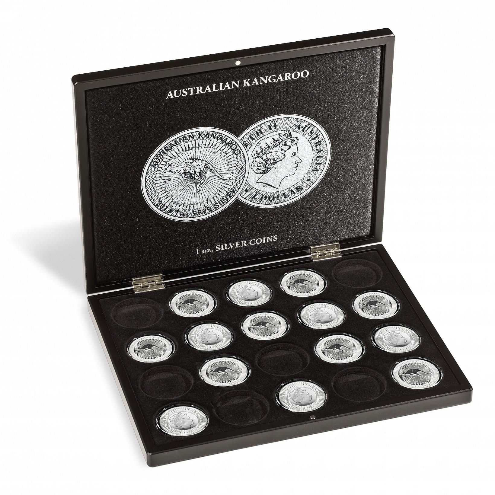 Muntcassette Volterra voor Kangaroo   Geopend   goud999