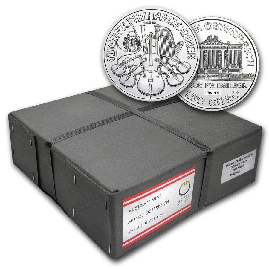 Philharmoniker Zilver 1 Ounce  Monsterbox | goud999