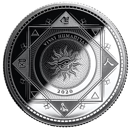 Vivat Humanitas Tokelau Zilver 1 Ounce 2020