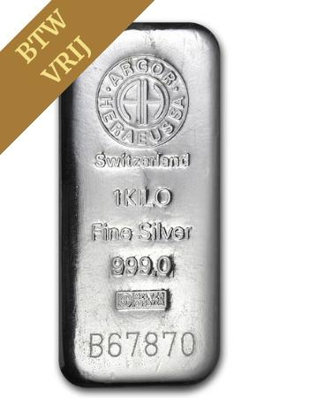 Zilverbaar 1kg LBMA | Baren | Goud999