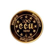 100 ECU   Muntzijde   goud999