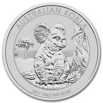 Koala Zilver 1 Kilogram 2017 | Muntzijde | goud999