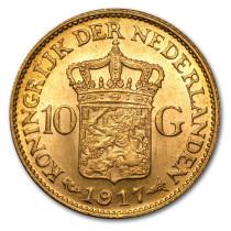 10 Gulden Goud/Gouden Tientje   Muntzijde   goud999