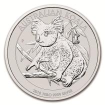 Koala Zilver 1 Kilogram 2018 | Muntzijde | goud999