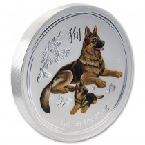 Year of the Dog Gemstone Edition 1 Kilogram PROOF 2018 | Muntzijde | goud999