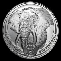 Elephant Zilver 1 Ounce 2019 | Hoofdzijde | Goud999