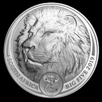 Lion Zilver 1 Ounce 2019 | Hoofdzijde | Goud999