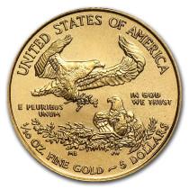 American Gold Eagle 1/10 Ounce 2021 | Muntzijde | Goud999