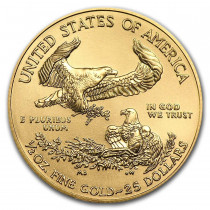 American Gold Eagle 1/2 Ounce 2021 | Muntzijde | Goud999