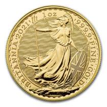 Britannia Goud 1 Ounce 2021 | Muntzijde | Goud999