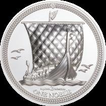 Isle of Man 1 Noble Silver Piedfort 2020 | Muntzijde| goud999