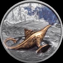 Magical Lamp - 1001 Nights - 1 Ounce Zilver | Hoofdzijde | goud999