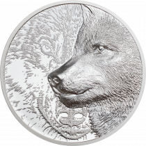Mystic Wolf Zilver 1 Ounce 2021 |  Goud999