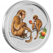 Year of the Monkey Gemstone Edition 1 Kilogram PROOF | Muntzijde | goud999