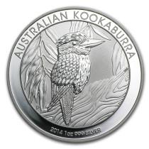 Kookaburra Zilver 1 Ounce 2014 | Hoofdzijde | goud999