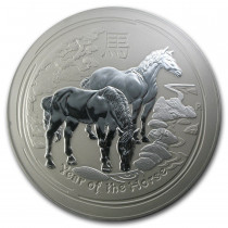 Lunar II Horse Zilver 10 Kilogram | Muntzijde | goud999