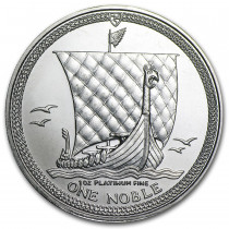 Platina Noble Isle of Man 1 Ounce | Muntzijde | goud999