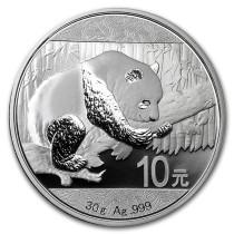 Panda Zilver 30 gram 2016 | Muntzijde | goud999