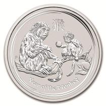 Lunar II Monkey Zilver 10 Kilogram 2016 | Muntzijde | goud999