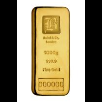Goudbaar 1 Kilogram 999,9/1000   goud999