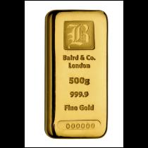 Goudbaar 500 gram 999,9/1000   goud999