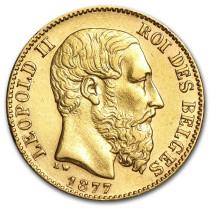 Belgische Louis 20 Frank   Hoofdzijde   goud999