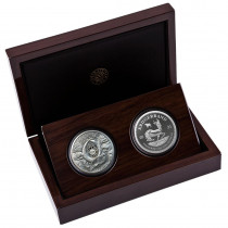 Big 5 Buffalo - Krugerrand PROOF set Zilver 2 Ounce 2021