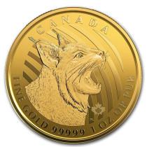 Bobcat Goud 1 Ounce 2020 | Muntzijde | goud999