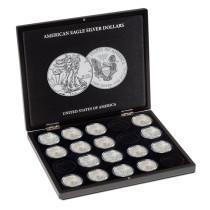 Muntcassette Volterra voor American Eagle | Geopend | goud999