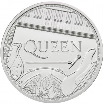 Britse Muziek Legendes Queen Zilver 1 Ounce 2020 | Muntzijde | Goud999