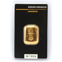 Goudbaar LBMA 50 gram Argor - Heraeus | Baar | goud999