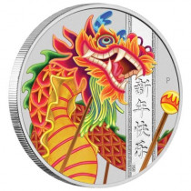 Chinese New Year Dragon 2019 Zilver 1 Ounce | Muntzijde | goud999