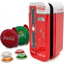 Coca Cola Vending Machine 4 Bottle Caps Zilver 6 gram 2020 PROOF| Bottle Cap | goud999