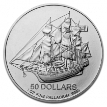 Cook Islands Palladium 1 Ounce Divers | Muntzijde | goud999