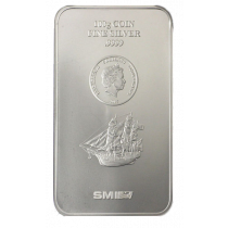 Cook Islands Zilver 100 gram Coinbar