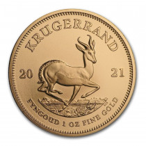 Krugerrand Goud 1 Ounce 2021 | Muntzijde | goud999