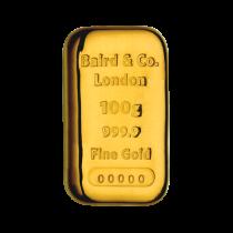 Goudbaar 100 Gram | goud999