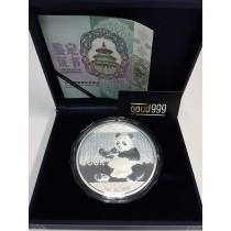 Panda Zilver 1 Kilogram 2017 | Doos | goud999.com